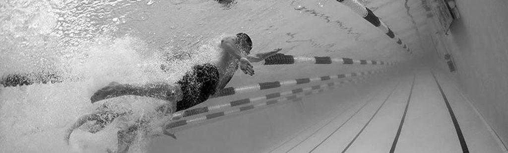``Las líneas en la piscina``